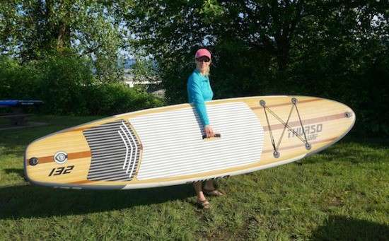 Thurso Surf Inflatable Stand Up Paddle Board Review